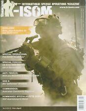 K-Isom 2/2013 forze speciali rivista comando esercito tedesco arma Elite unità GSG