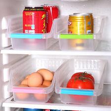 Slide Kitchen Refrigerator Storage Box Drawer Holder Shelf Rack Space Save HOT