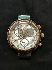 Tommy Bahama TB4059 Two Tone Chronograph Mother of Pearl Watch - CASE ONLY