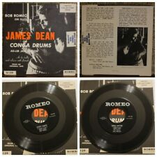 James Dean on Conga Drums in an Ad-Lib Jam Session (1957) - 45RPM (Used)