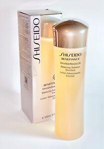 Shiseido Benefiance WrinkleResist24 Balancing Softener Enriched 10oz/ 300mL•NEW