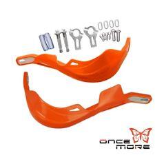 "7/8"" 22mm Brush Hand Guards Supermoto Dirtbike For KTM 400 450 EXC Orange"