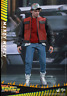 Hot Toys Back to The Future Part 2 II Marty McFly 1/6 Action Figure
