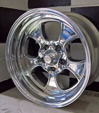 16x8 FORD 5/114.3 POLISHED AMERICAN RACING 2 PIECE HOPSTER WHEELS