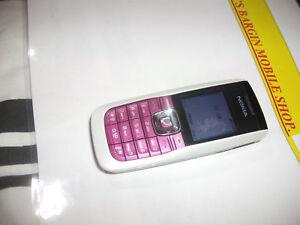 Nokia 2626 -WHITE/METALLIC PINK (Unlocked) Mobile Phone