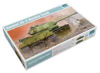 Trumpeter 9365588 Russischer Schwerer Panzer IS-2 1:35 Fahrzeug Modellbausatz