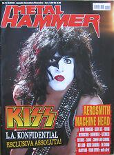 METALHAMMER 11 2012 Kiss Aerosmith Machine Head Stone Sour Devin Townsend Voivod