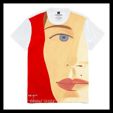 BNWT  VISIONAIRE X GAP T-SHIRT: ALEX KATZ Artwork UV-sensitive Motif Top S