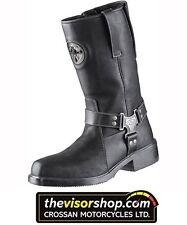 "Held ""NEVADA II"" Chopper Waterproof Motorcycle Boots - Black - EU43 UK9"
