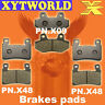 FRONT REAR Brake Pads for HYOSUNG GT 650 i Naked 2012 2013 2014 2015