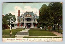 Cleveland OH, Colonial Club, Vintage Ohio c1907 Postcard