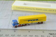 Noch Pohl Tractor Trailer Truck Z Scale 1:220