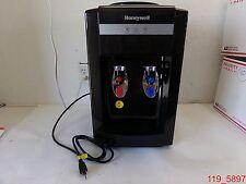 Honeywell HWB2052B2 Tabletop Top-Loading Hot/Cold Water Dispenser, Black