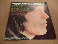 "TONY RONALD "" HELP ( GET ME SOME HELP ) 7"" SINGLE P/S SPAIN EXCELLENT 1971"