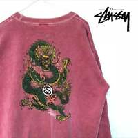 STUSSY Dragon trainer USA made VIntage rare from JAPAN Free shipping