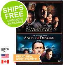 The Da Vinci Code / Angels & Demons (DVD, 2016) NEW, Sealed, Tom Hanks