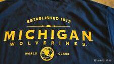 Vintage MICHIGAN WOLVERINES Established 1817   T-Shirt