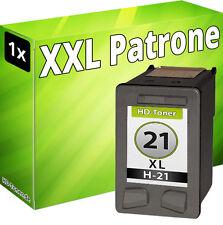DRUCKER PATRONEN für HP 21 XL DESKJET D1360 D1460 D1560 3920 3940 D2360 D2460