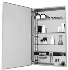 """Robern MC1630D4FPLE2 MC Series Medicine Cabinet 30""""H x 16""""L x 4""""D Flat, Polished"""