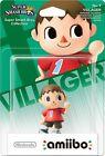 "Villageois ""Animal Crossing"" Villager Super Smash Bros Figurine Amiibo Wii U"