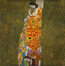 Gustav Klimt Hope II Giclee Canvas Print Paintings Poster Reproduction Copy