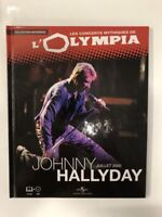 johnny hallyday concerts mythiques de l'olympia 2000 1 cd + 1 livre neuf