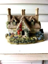 "Lilliput Lane "" Saffron House "" English Collection 1994 Handmade in Cambridge ,U"