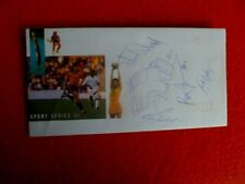 1992 AUSTRALIAN BASEBALL TEAM SIGNED COVER  7 MEMBERS