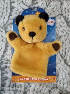 SOOTY - SOOTY OFFICIAL HAND PUPPET BRAND NEW ON CARD