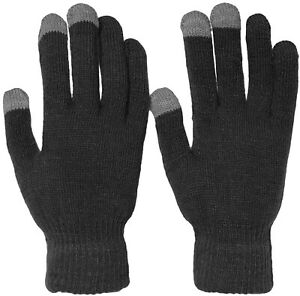 Winter Magic Touch Screen Knit Gloves Smart Phone Tablet ONE SIZE