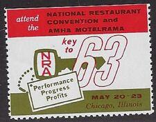 USA Cinderella: 1963 National Restaurant Convention and AMHA Motelrama - dw821