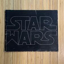 Star Wars 1977 Original Pressbook, Deluxe Exhibitors