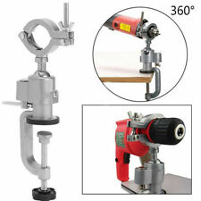 360° Clamp-on Metal Table Vise Bench Grinder Holder Electric Drill Rotary Tool
