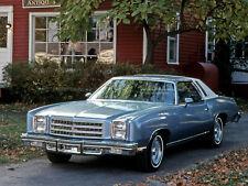 1976 Chevrolet Monte Carlo Landau, Refrigerator Magnet, 40 MIL