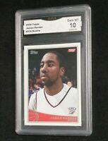 2009-10 Topps James Harden Rookie RC #319 Psa 10 Gem Mint MT GMA HOT HOF NM NEW