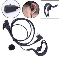 2 PIN PTT Mic Earpiece Headset for Motorola GP88 GP300 GP2000 CT150 P040 Radio