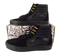 Vans x Marvel Black Panther Sk8-Hi Hi Top Sneakers Black/Gold Limited and RARE!