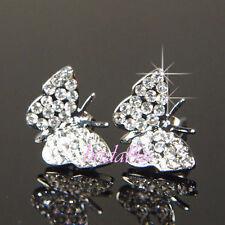 Swarovski Butterfly Costume Earrings