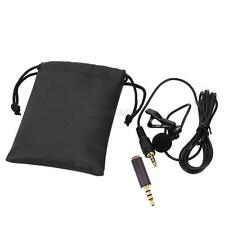 External Clip-on Lapel Lavalier Microphone For iPhone SmartPhone Recording