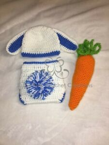 Baby Bunny Rabbit Outfit Halloween Costume Photo Prop Baby Shower Gift