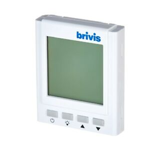 Brivis Gas Ducted Heating Digital Manual Thermostat Wall Controller