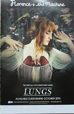 Florence + The Machine 2009 Lungs 2 Sided Promotional Poster New Old Stock