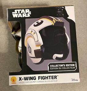 STAR WARS X-Wing Fighter Helmet  cosplay series deluxe black disney galaxys edge