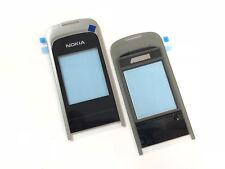 ORIGINALE Nokia 2720 Fold GUSCIO SUPERIORE A-cover disco Display Vetro Frontale Nero