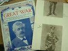 ORIGINAL VINTAGE MAGAZINE 57 THE GREAT WAR 1914-18 NICE ITEM TO MARK CENTENARY