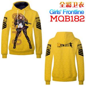 Anime Girls Frontline Cosplay Hoodie Sweatshirt Jacket Casual Long sleeve Coat 2