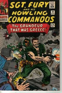 Marvel 1966 Sgt Fury and His Howling Commandos #33 W: Roy Thomas A: Dick Ayers