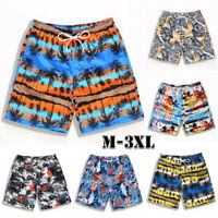 Mens Summer Beach Board Shorts Surf Sport Swim Wear Trunks Pants Swimsuit M-3XL