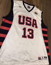 Tim Duncan Trikot, Team USA Trikot, Dream Team Jersey, Basketballtrikot, Jordan