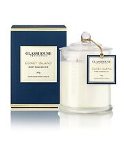 Glasshouse Candle 350g -CONEY ISLAND - BURNT SUGAR & FIG - FAST POSTAGE